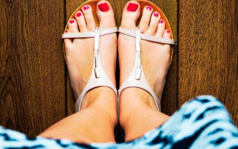 Ošetření nemocných nehtů